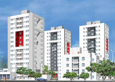 Gallery Cover Image of 750 Sq.ft 2 BHK Apartment for rent in  Malancha, New Town for 16000