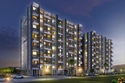 Gallery Cover Image of 1371 Sq.ft 3 BHK Apartment for buy in Oxford Florida River Walk Phase 1, Mundhwa for 9300000