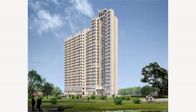 Gallery Cover Image of 415 Sq.ft 1 BHK Apartment for buy in Marathon Neo Square, Bhandup West for 4500000