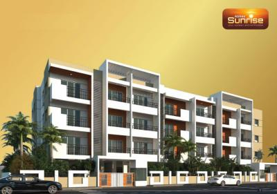 Gallery Cover Image of 1020 Sq.ft 2 BHK Apartment for buy in Abhee Sunrise, Kudlu Gate for 5500000
