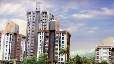 Gallery Cover Image of 560 Sq.ft 1 BHK Apartment for rent in Godrej Edenwoods, Thane West for 18000