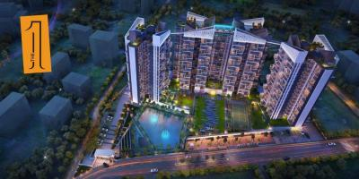 Gallery Cover Image of 867 Sq.ft 2 BHK Apartment for buy in Merlin The One, Tollygunge for 6870000