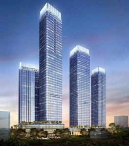 Gallery Cover Image of 1890 Sq.ft 3 BHK Apartment for buy in Indiabulls Blu Tower B, Worli for 82500000
