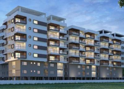 Gallery Cover Image of 1200 Sq.ft 3 BHK Apartment for buy in Krithika Sheshadris Silver Oak, Uppal for 3600000