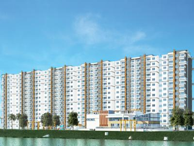 Gallery Cover Image of 1200 Sq.ft 2 BHK Apartment for buy in Bren EdgeWaters, Kasavanahalli for 8200000