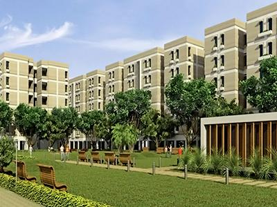 Gallery Cover Image of 400 Sq.ft 2 BHK Apartment for rent in Indiabulls Centrum, Saraspur for 8000