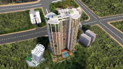 Gallery Cover Image of 2400 Sq.ft 4 BHK Apartment for rent in JP Decks, Malad East for 110000