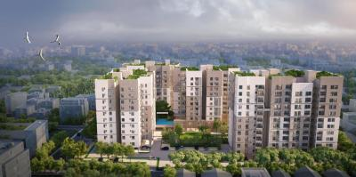 Gallery Cover Image of 1484 Sq.ft 3 BHK Apartment for buy in Srijan Natura, New Alipore for 8300000