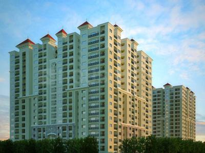 Gallery Cover Image of 4165 Sq.ft 4 BHK Apartment for rent in My Home Abhra, Madhapur for 125000
