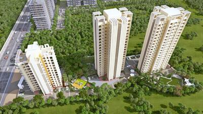 Gallery Cover Image of 525 Sq.ft 1 BHK Apartment for rent in Heights H2 And H3, Kasarvadavali, Thane West for 15500
