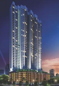 Gallery Cover Image of 980 Sq.ft 2 BHK Apartment for rent in Romell Aether Wing B1, Goregaon East for 48000