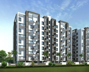 Gallery Cover Image of 980 Sq.ft 2 BHK Apartment for rent in Pragati Royal Serene Phase I, Mahalunge for 18000
