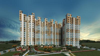 Gallery Cover Image of 1095 Sq.ft 2 BHK Apartment for rent in Uninav Heights Phase 2, Raj Nagar Extension for 10000