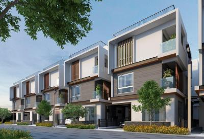 Gallery Cover Image of 2043 Sq.ft 3 BHK Villa for buy in 42 Queen's Square, Sarjapur for 12800000