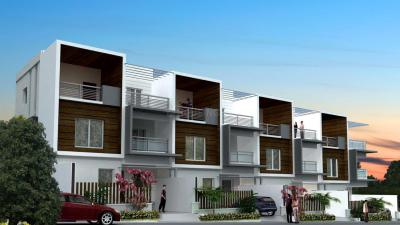 Gallery Cover Image of 2500 Sq.ft 4 BHK Villa for buy in Rooshna Majestic Villas, Rajendra Nagar for 16000000