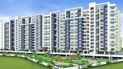 Gallery Cover Image of 1450 Sq.ft 3 BHK Apartment for rent in Aishwaryam Courtyard 2, Chikhali for 18000