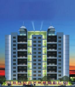 Gallery Cover Image of 977 Sq.ft 2 BHK Apartment for buy in Nerkar Ganesh Signifia, Indira Nagar for 3600000