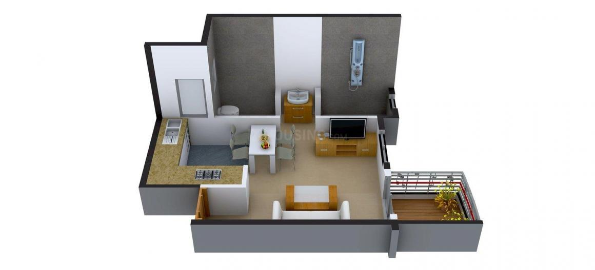 1 RK Studio Apartment