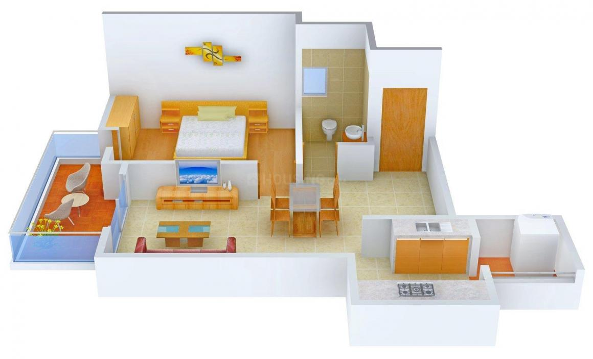 Floor Plan Image of 725.0 - 1985.0 Sq.ft 1 BHK Apartment for buy in Westline Bonita