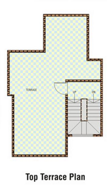 Pharande Comfort Cushion Floor Plan: 3 BHK Unit with Built up area of 2400 sq.ft 3
