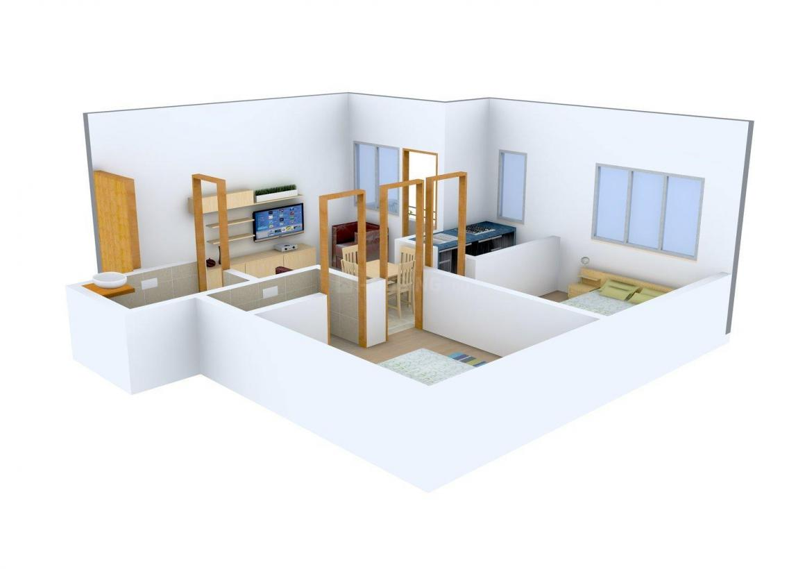 Floor Plan Image of 586 - 1002 Sq.ft 2 BHK Apartment for buy in Pacific Dale