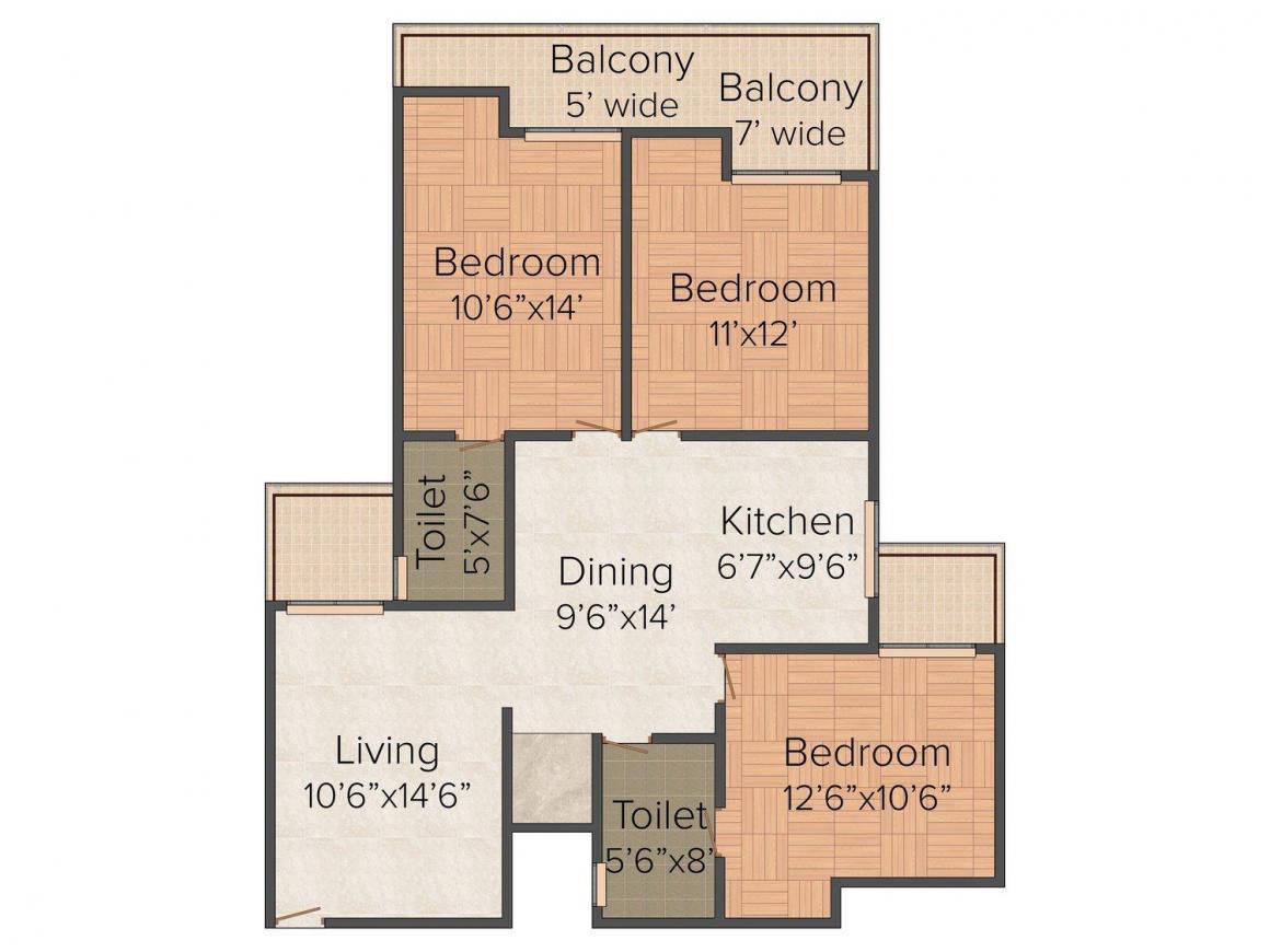 Cloud 9 skylish indirapuram ghaziabad flats in indirapuram price - Sarvottam La Royale In Indirapuram Ghaziabad Price Floor Plans Photos Reviews Possession Housing Com