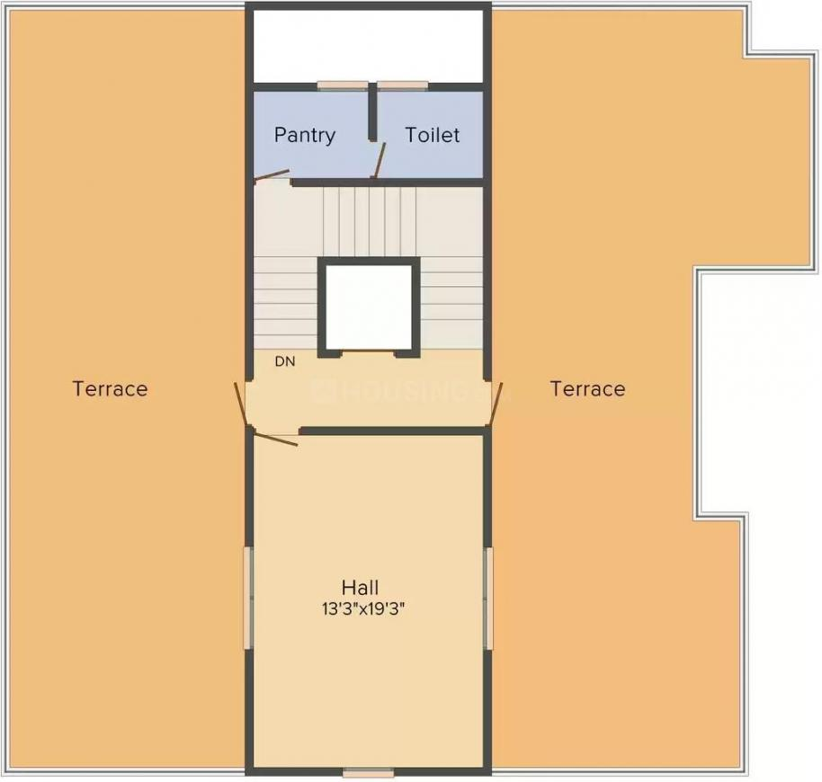 KB Supercity Lifestyle Township Floor Plan: 5 BHK Unit with Built up area of 6552 sq.ft 3