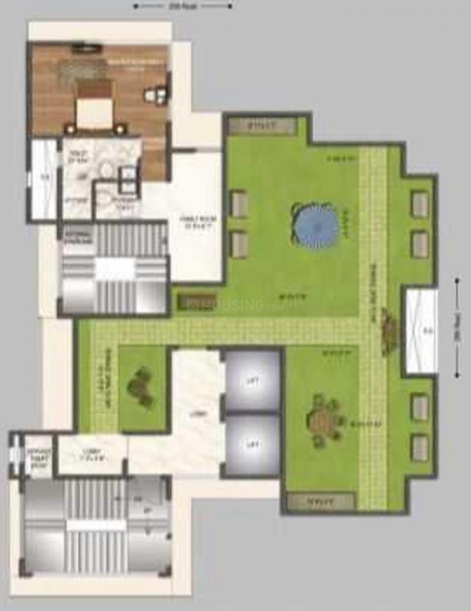 Niraj Naik Kakad Niwas Floor Plan: 4 BHK Unit with Built up area of 1474 sq.ft 1