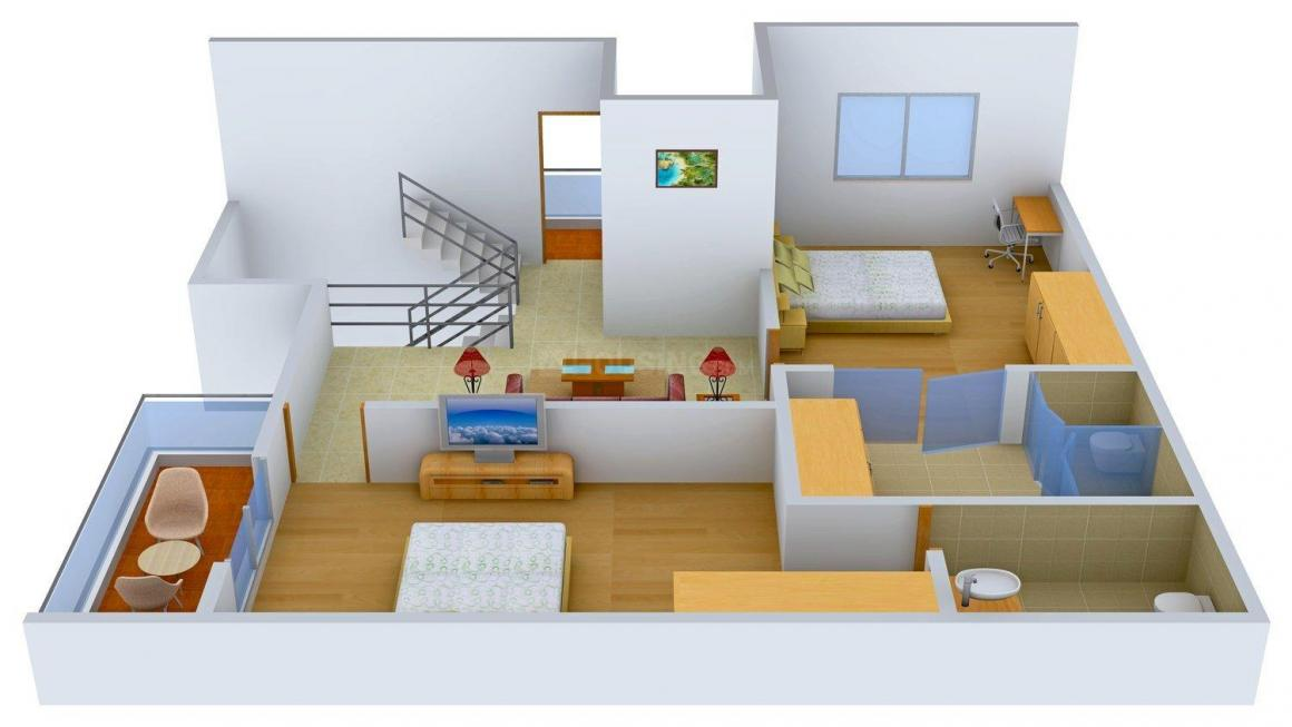 Arham Felicia Floor Plan: 4 BHK Unit with Built up area of 3252 sq.ft 7