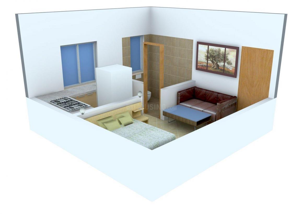 Floor Plan Image of 300 - 660 Sq.ft 1 RK Apartment for buy in Shiv Manav Shree Dattakrupa Apartment