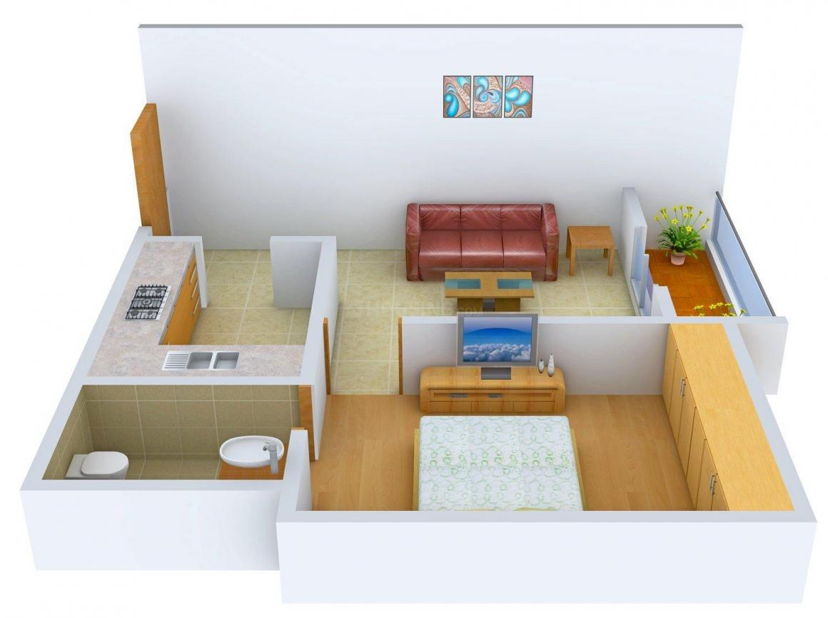 Floor Plan Image of 650 - 2600 Sq.ft 1 BHK Apartment for buy in Vedic Green Tech City
