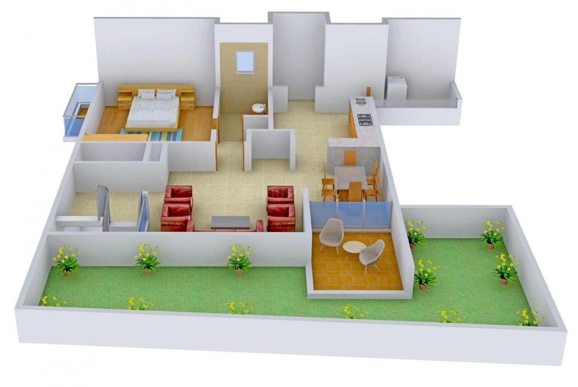 Floor Plan Image of 0 - 5500 Sq.ft 4 BHK Bungalow for buy in Sanskrut Jewel Tanishk Solitaire