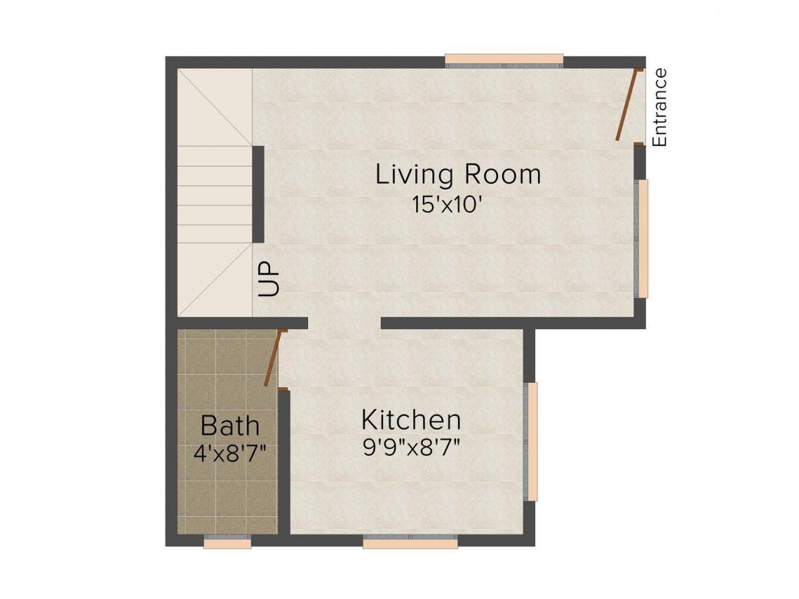 Floor Plan Image of 0 - 2500.0 Sq.ft 4 BHK Row House for buy in Shree Yashashree Suryamala