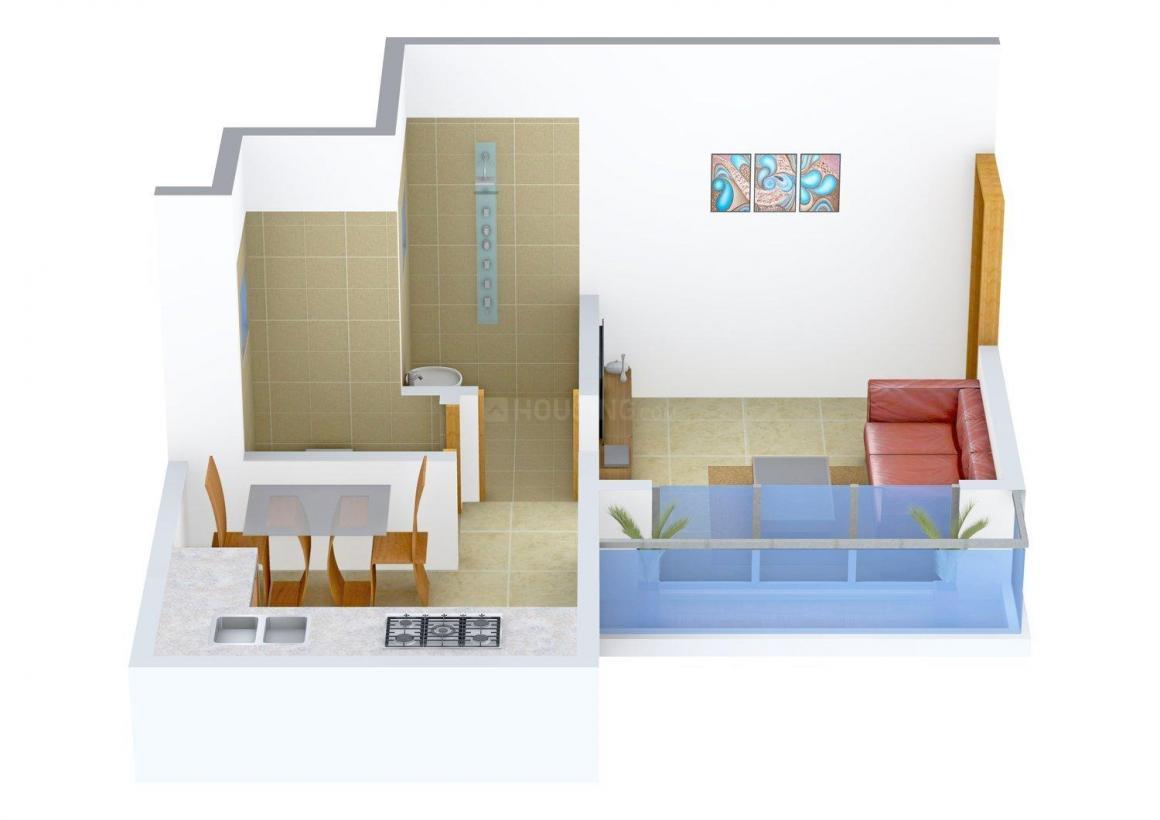 Floor Plan Image of 0 - 351.0 Sq.ft 1 RK Apartment for buy in Shri Yadhuwanshi Radhey Enclave