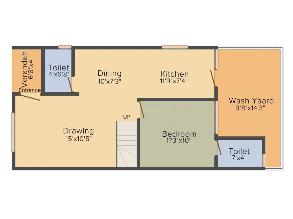 Floor Plan Image of 0 - 2367.0 Sq.ft 4 BHK Villa for buy in Abjibapa Dev Aashish