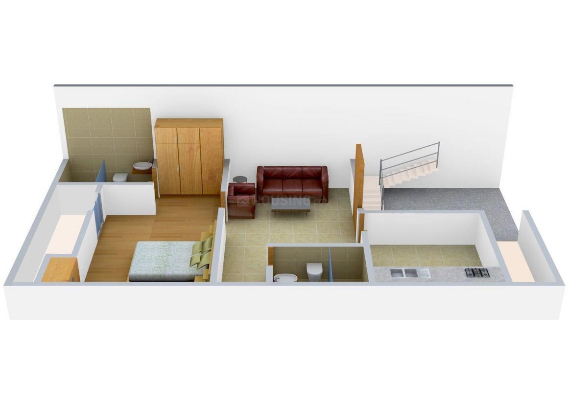 Floor Plan Image of 0 - 1362 Sq.ft 2 BHK Villa for buy in V-Cube Sunflower