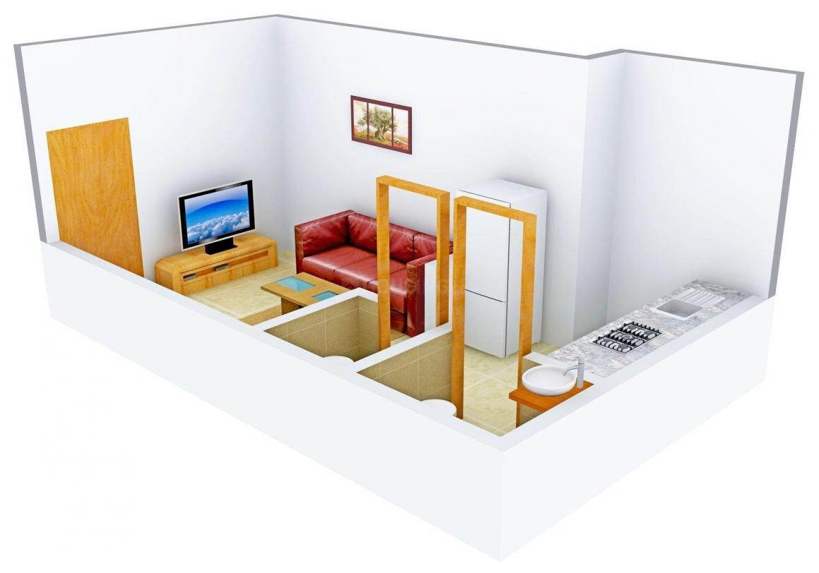 Floor Plan Image of 365 - 850 Sq.ft 1 RK Apartment for buy in Shree Bhoomi Avantika Complex
