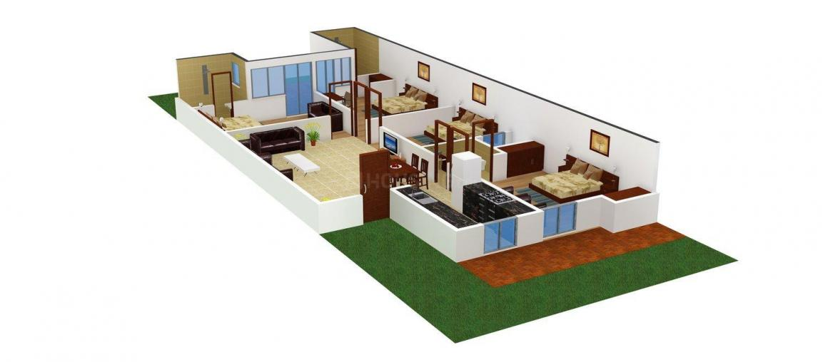 PLD Floors B - 359 Floor Plan: 4 BHK Unit with Built up area of 2412 sq.ft 1