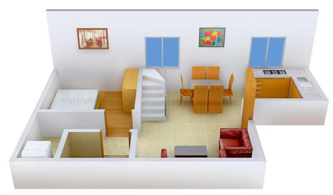 Floor Plan Image of 0 - 1100 Sq.ft 3 BHK Villa for buy in Bhoomi Matru Homes