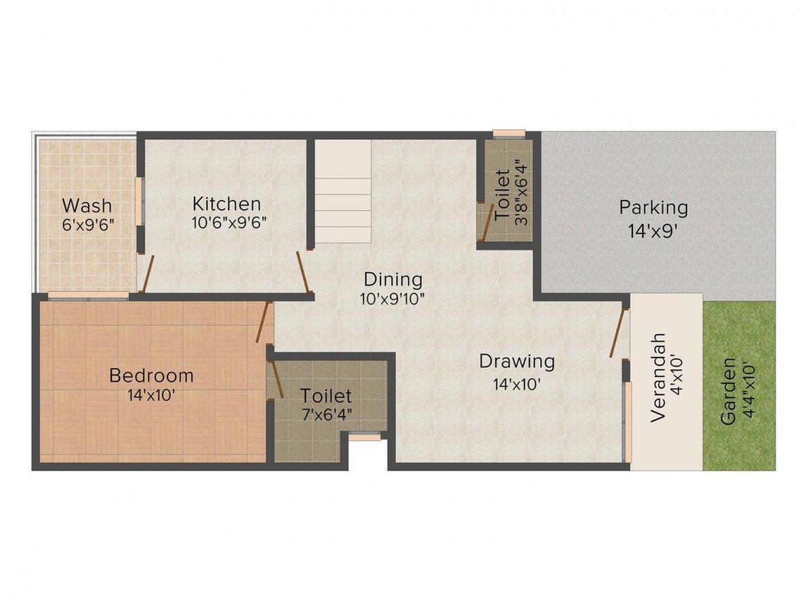 2D - Lower Floor