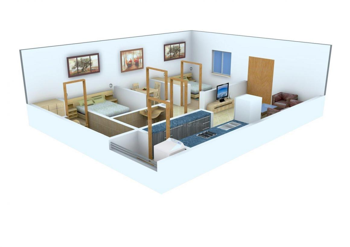 Floor Plan Image of 0 - 785 Sq.ft 2 BHK Apartment for buy in Sri Harsha Residency Phase II