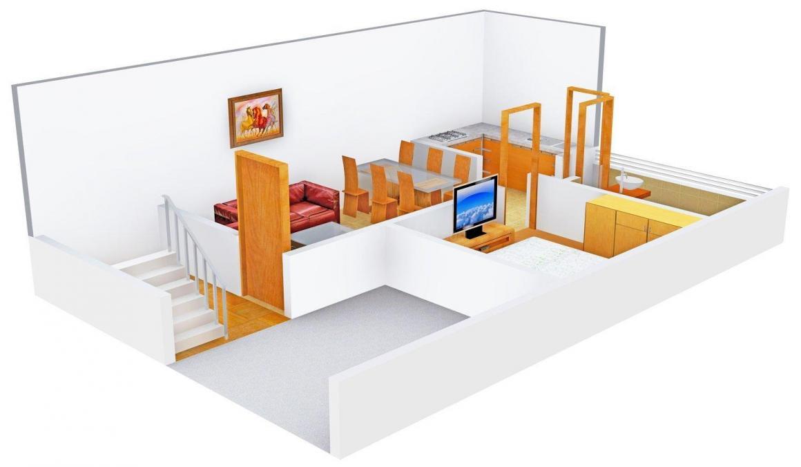 3D - Lower Floor