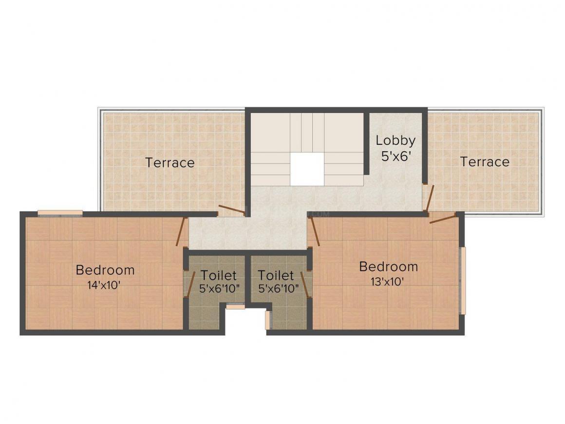 2D - Upper Floor