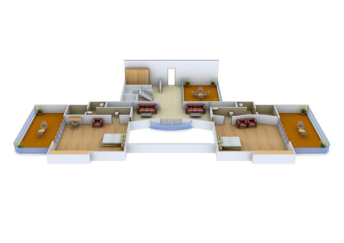 Floor Plan Image of 0 - 8500 Sq.ft 5 BHK Apartment for buy in Marathon NexGen Era