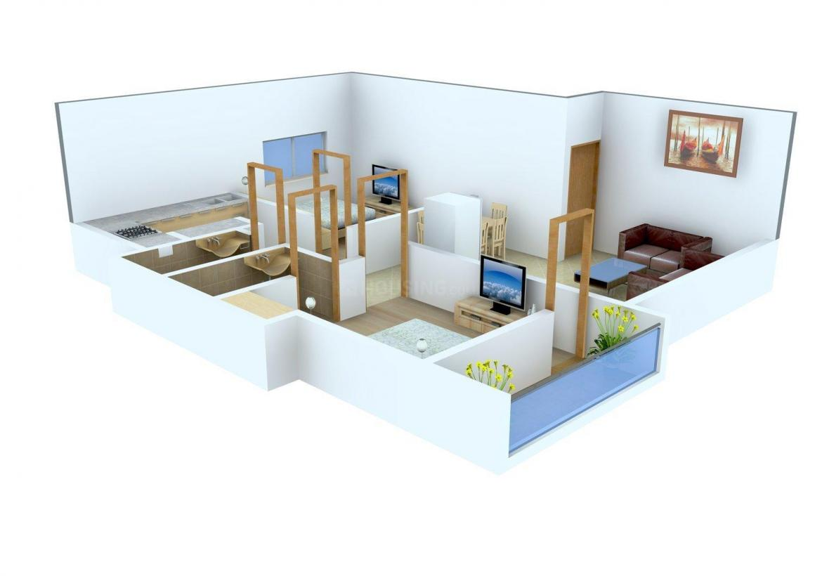 Floor Plan Image of 0 - 885.0 Sq.ft 2 BHK Apartment for buy in Jaya's Hive