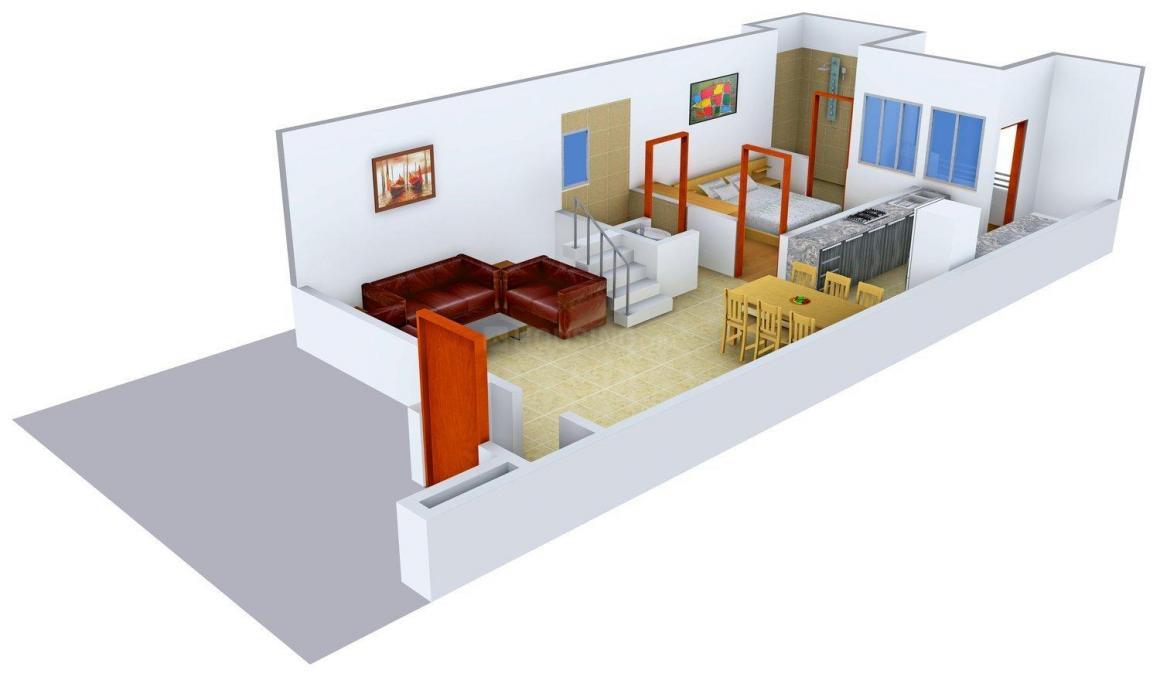 Floor Plan Image of 1387 - 3728 Sq.ft 3 BHK Villa for buy in Mangalyam Meadows