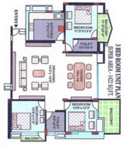 Cghs Celestial Heights In Sector 2 Dwarka New Delhi Price Reviews Floor Plan