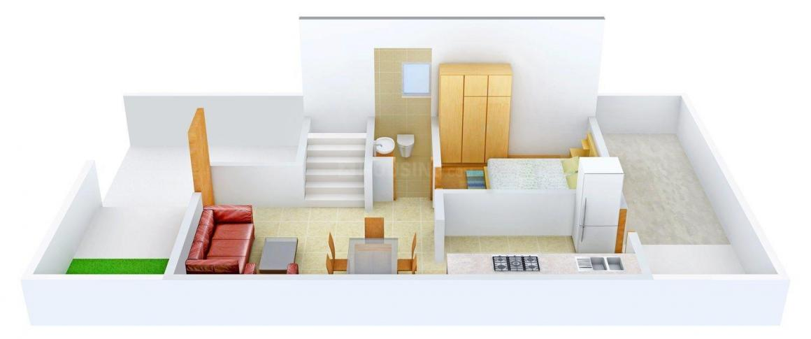 Floor Plan Image of 1856 - 2935 Sq.ft 3 BHK Duplex for buy in Maruti Happy Homes