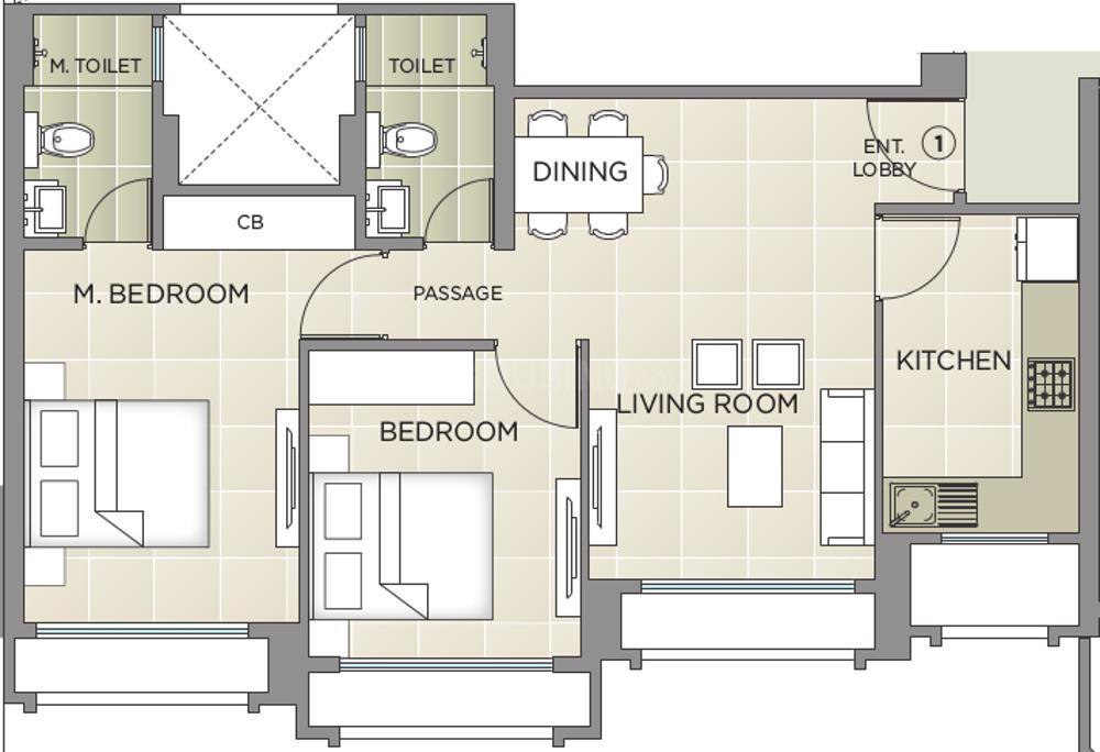 Hiranandani Eagleridge Wing B In Hiranandani Estate Thane Price Reviews Floor Plan