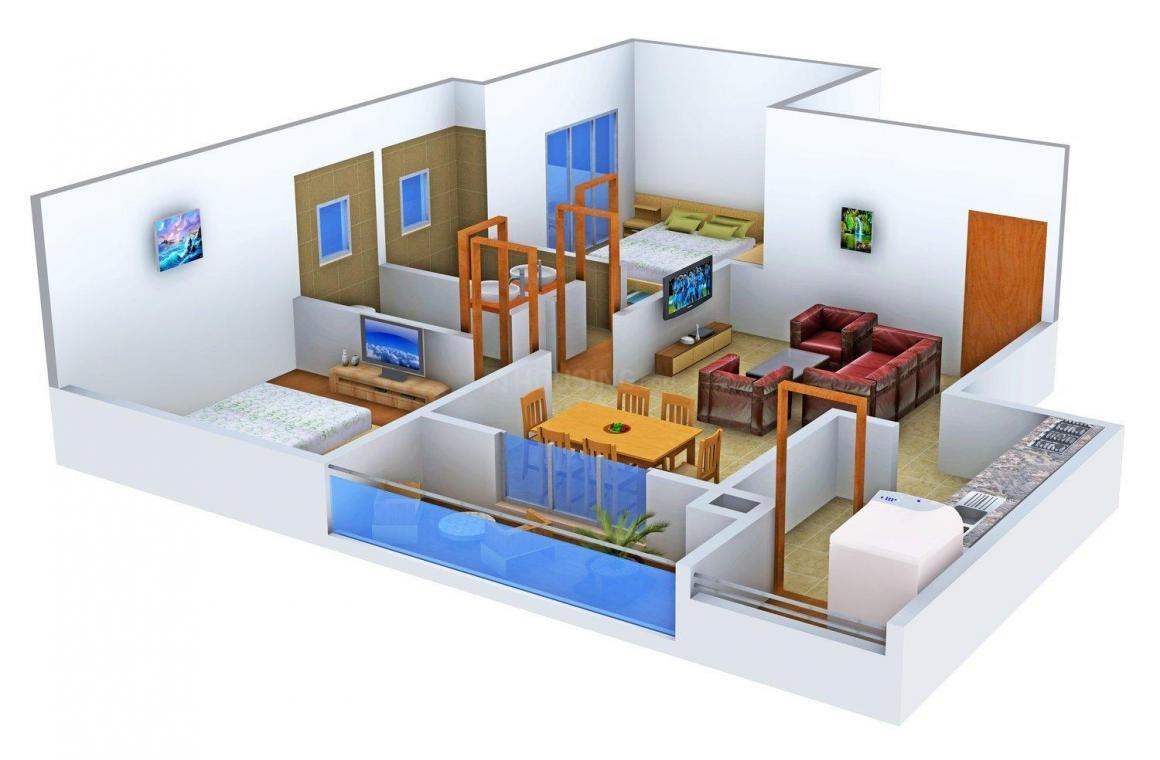 Floor Plan Image of 1150.0 - 1850.0 Sq.ft 2 BHK Apartment for buy in Artech Avantika